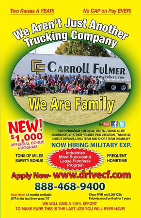 Carroll Fulmer Logistics